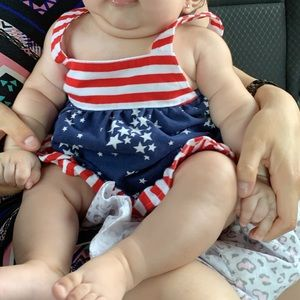 Fourth of July Baby Set
